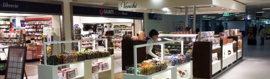Store della cioccolateria Venchi